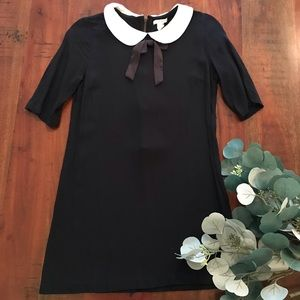 Forever 21 Peter Pan Collar Tunic with Bow at Neck